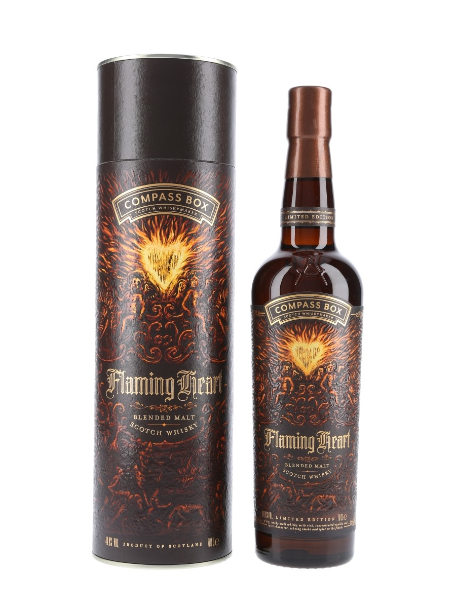 Compass Box Flaming Heart 6th Edition Bottled 2018 70cl / 48.9%
