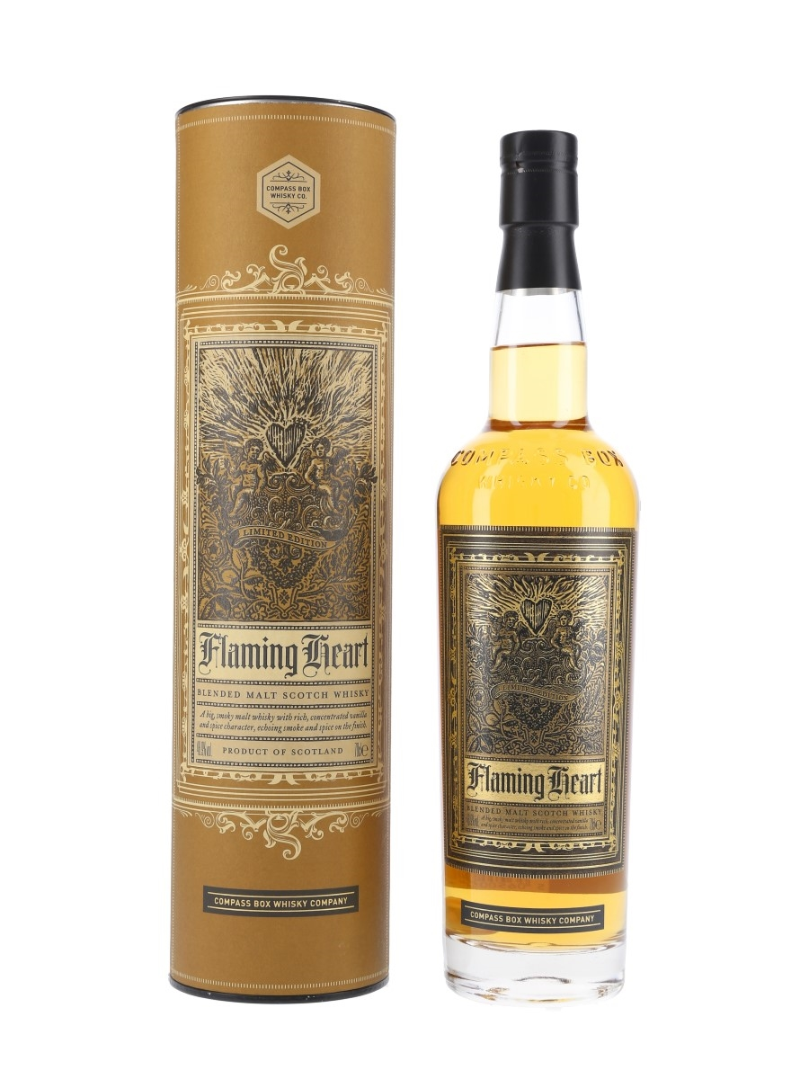 Compass Box Flaming Heart 4th Edition Bottled 2012 70cl / 48.9%