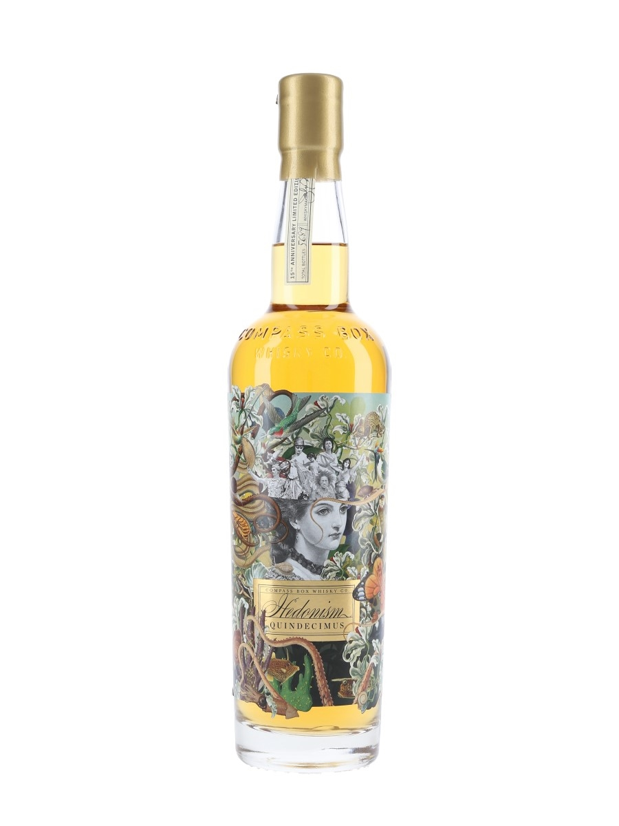 Hedonism Quindecimus Compass Box - 15th Anniversary 70cl / 46%