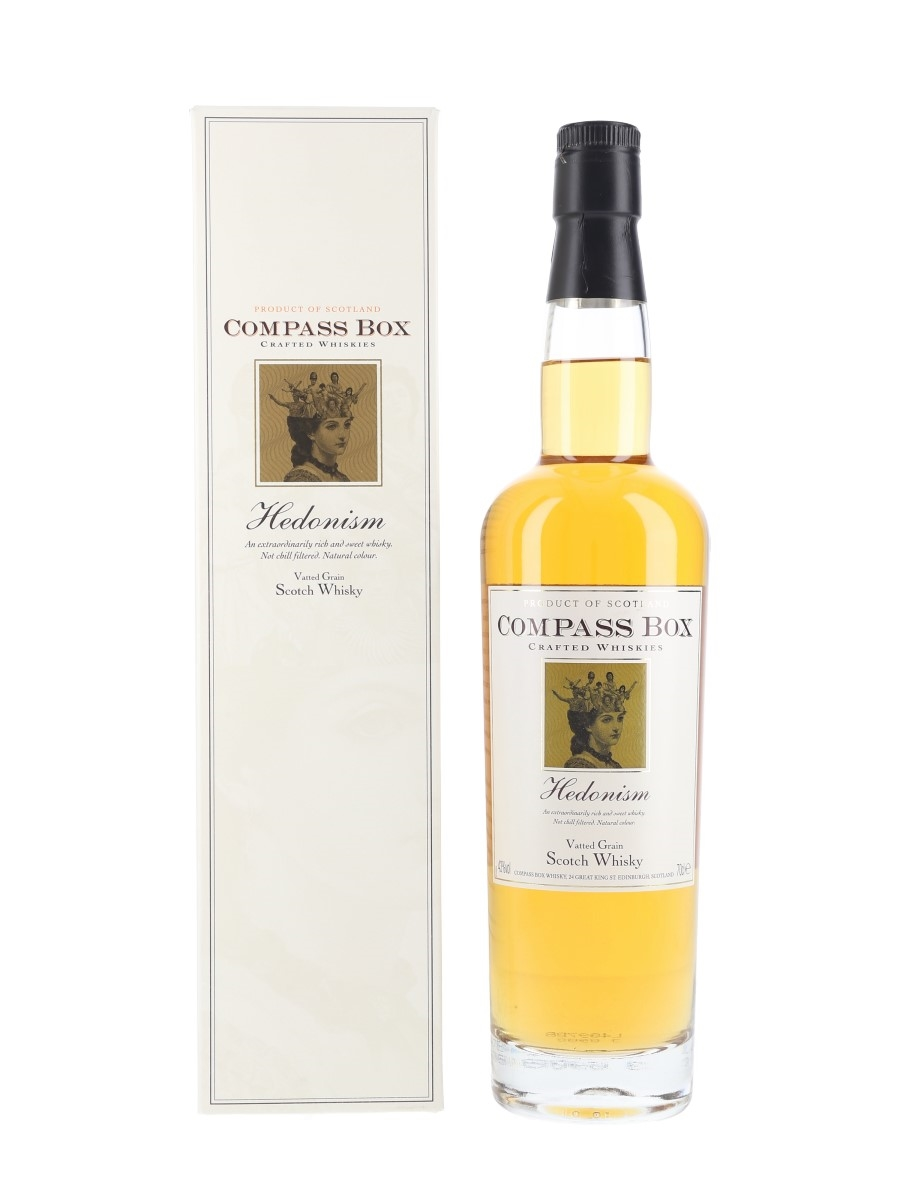 Compass Box Hedonism Bottled 2000s 70cl / 43%