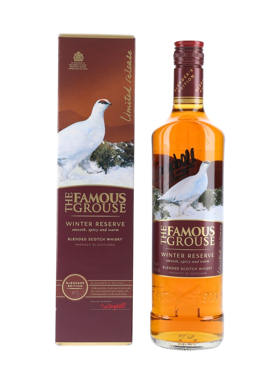 Famous Grouse Winter Reserve Blender's Edition No. 2 - Signed Bottle 70cl / 40%