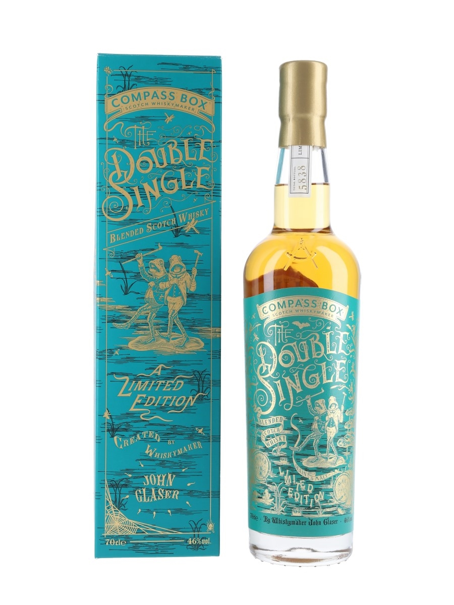 The Double Single Compass Box 70cl / 46%