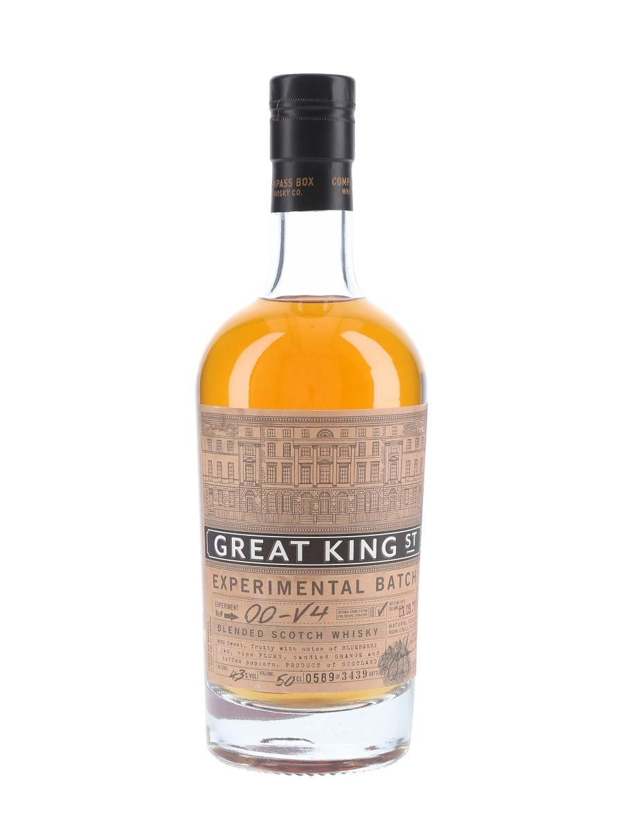 Compass Box Great King Street Experimental Batch 00-V4 Bottled 2013 50cl / 43%