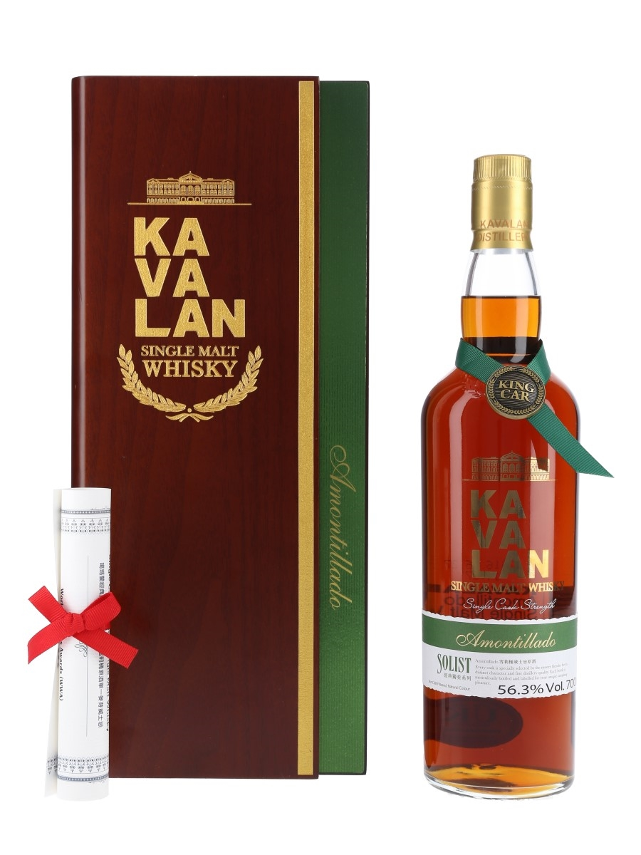 Kavalan Solist Amontillado Cask Distilled 2011, Bottled 2016 70cl / 56.3%