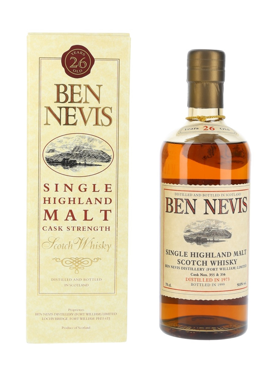 Ben Nevis 1973 26 Year Old - Cask No. 355 & 356 70cl / 50.8%