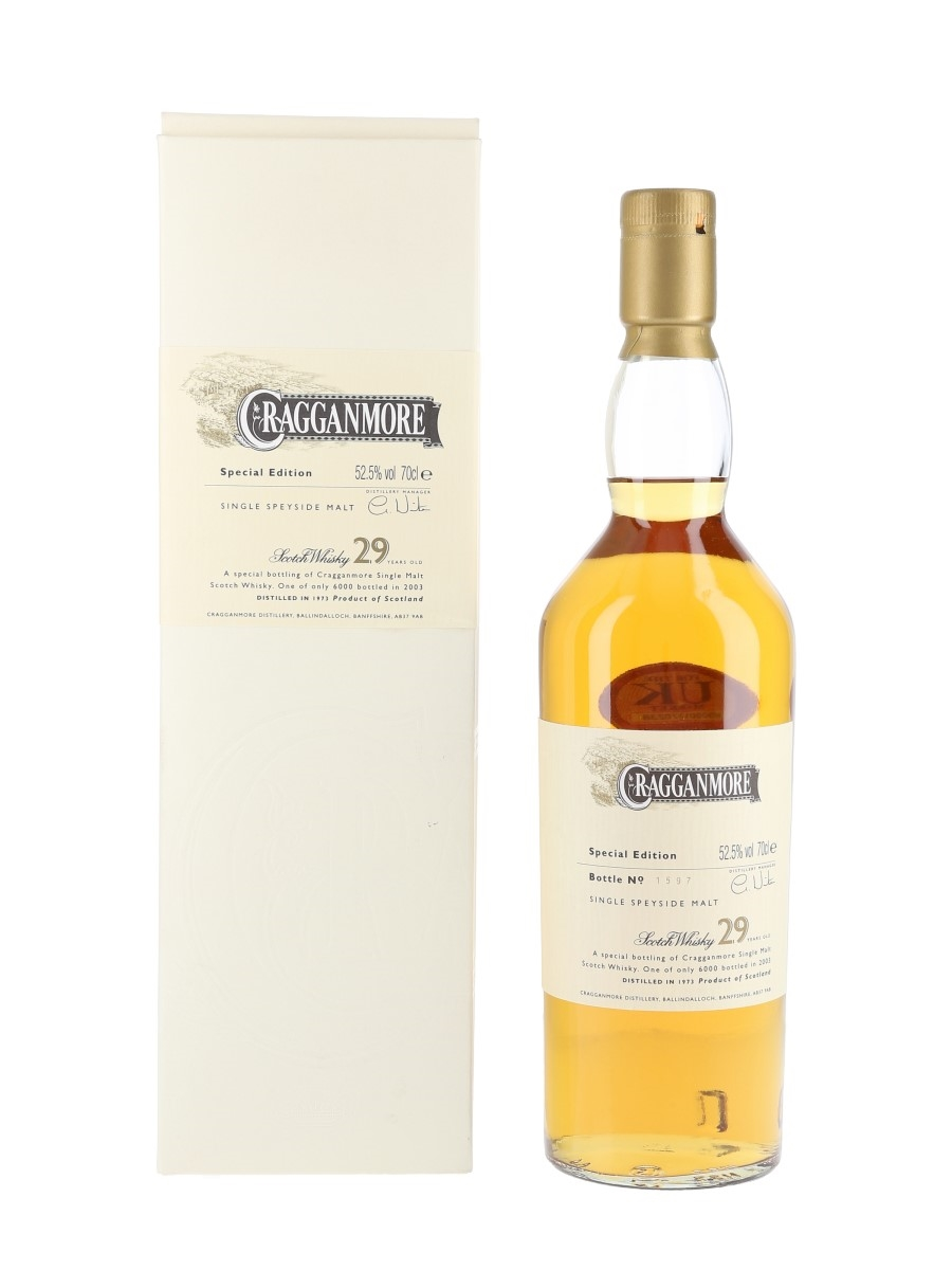 Cragganmore 1973 29 Year Old 70cl / 52.5%
