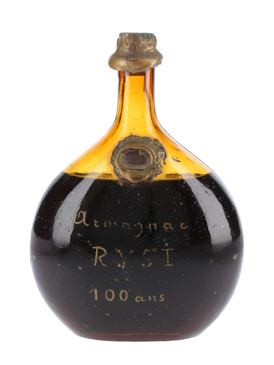 Ryst 100 Year Old Armagnac Bottled 1940s-1950s 70cl