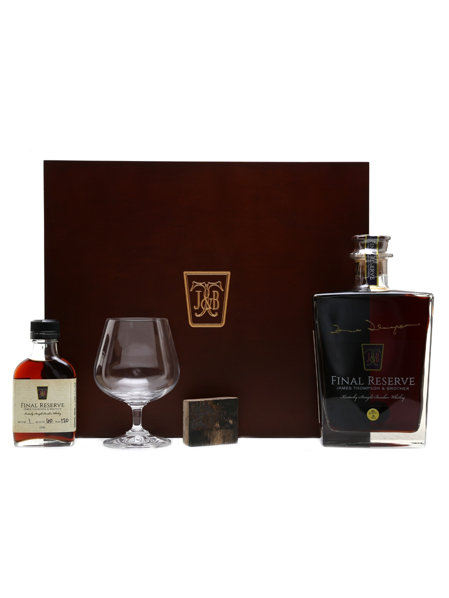 James Thompson & Brother 1970 Final Reserve 1st Release Bottled 2017 - Signed By James Thompson 75cl & 10cl / 60%