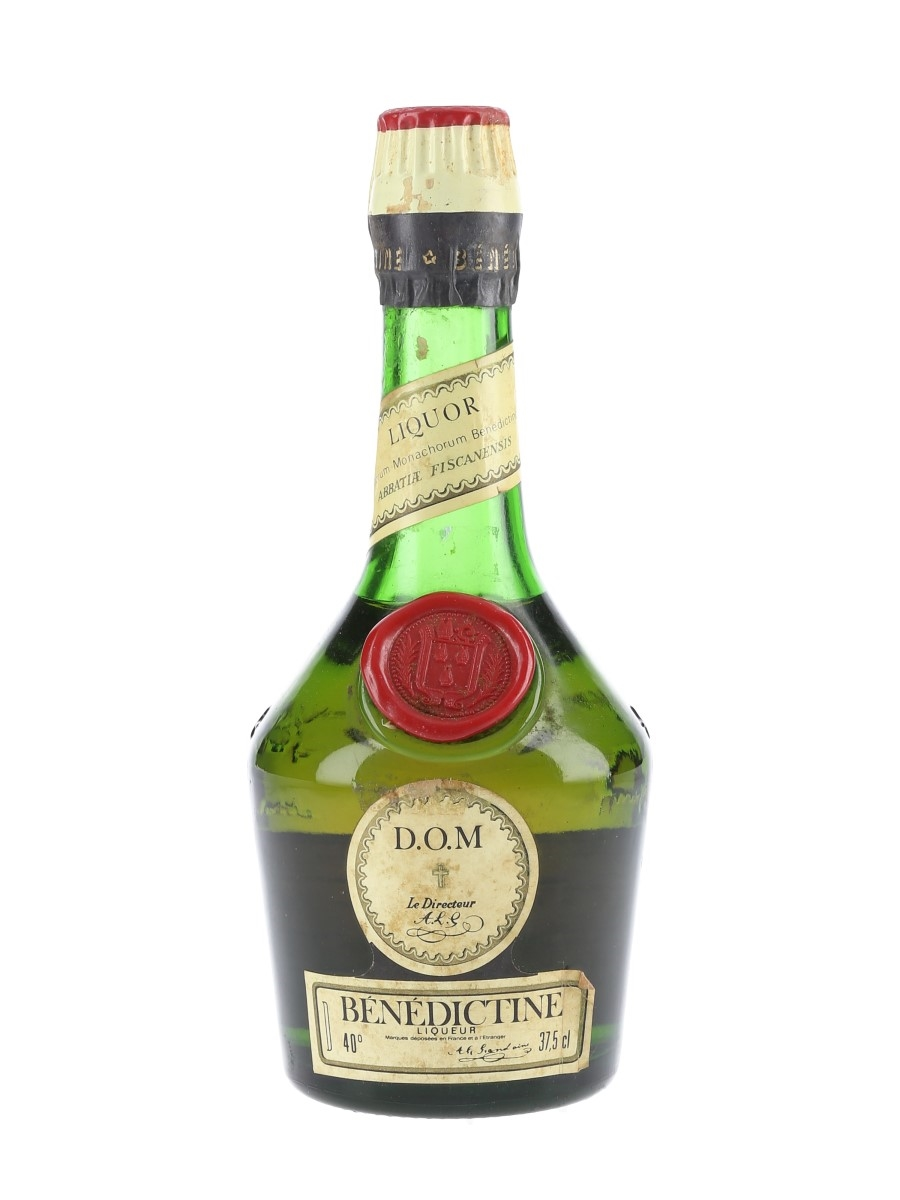 Benedictine DOM Bottled 1970s-1980s - Cinzano, Spain 37.5cl / 40%