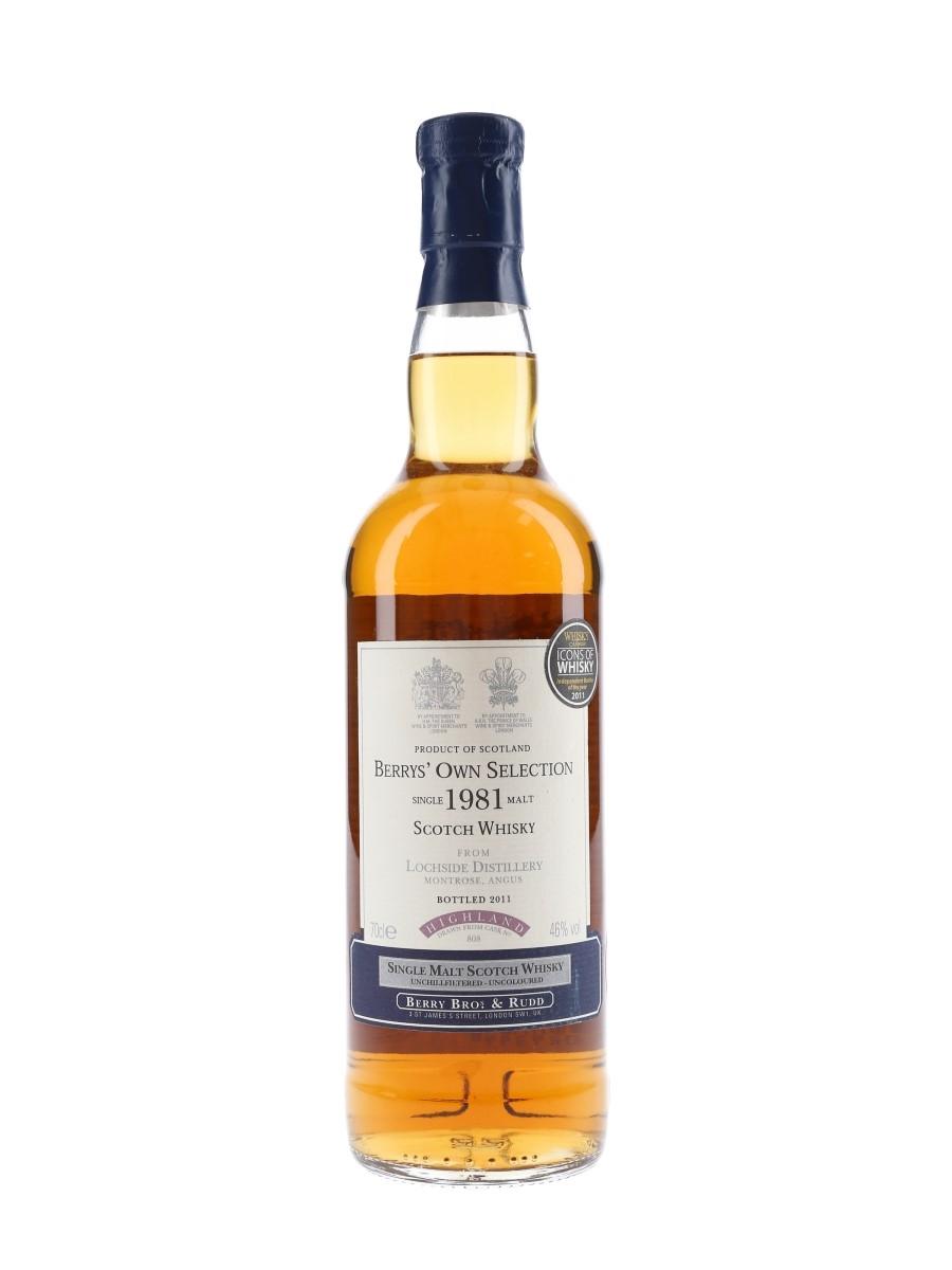 Lochside 1981 Bottled 2011 - Berry Bros & Rudd 70cl / 46%