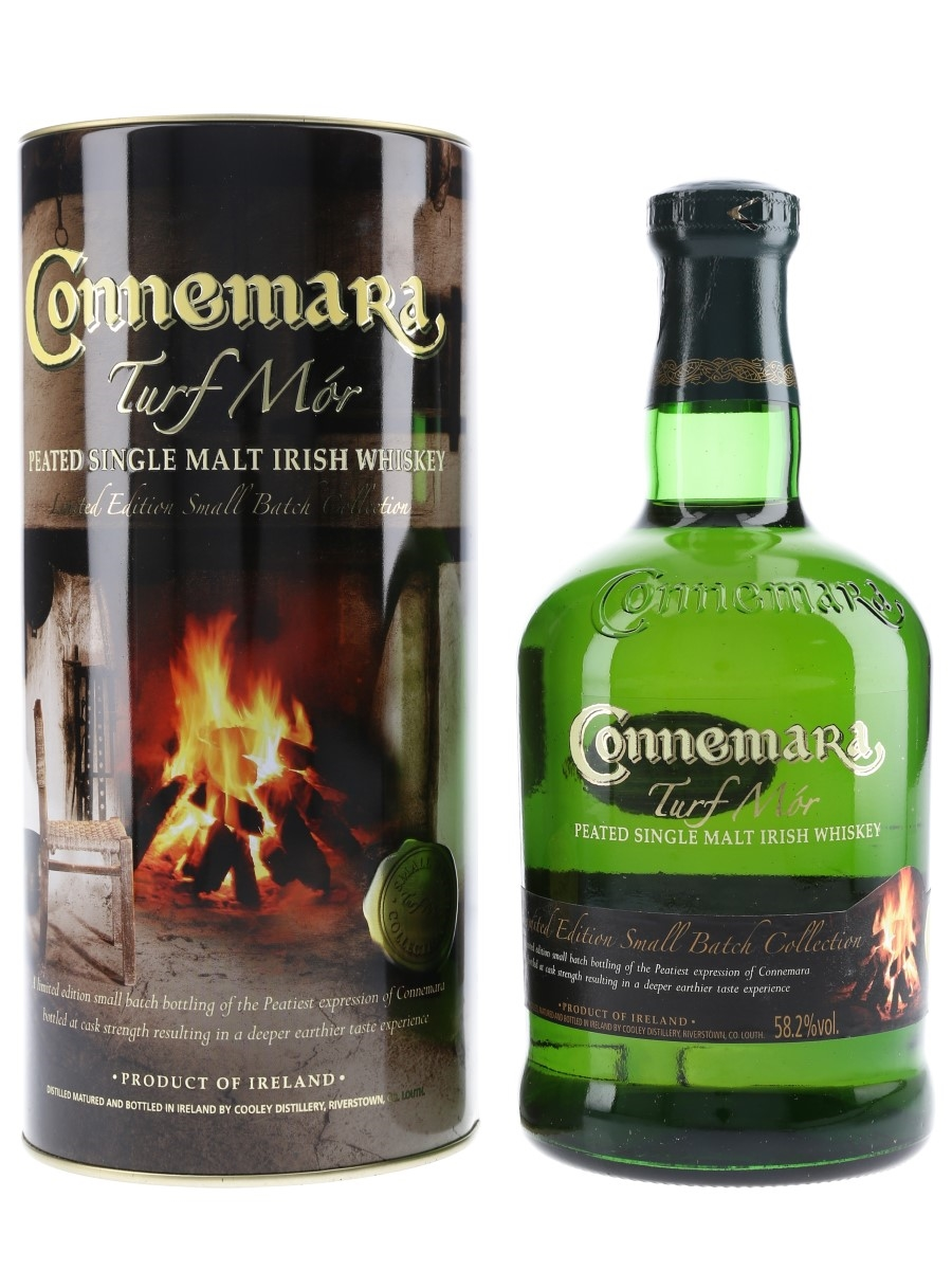Connemara Turf Mor Malt Cooley Distillery 70cl / 58.2%