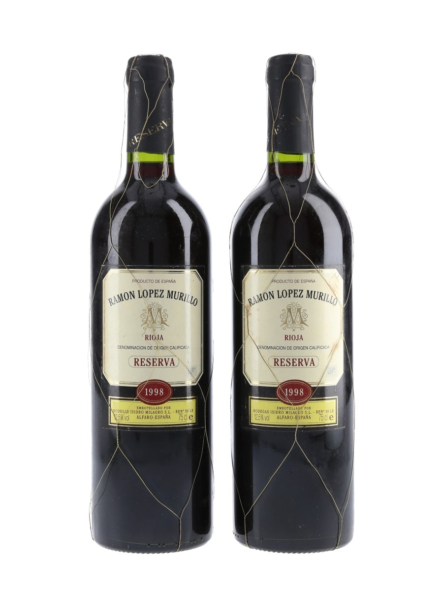 Ramon Lopez Murillo 1998 Reserva Rioja 2 x 75cl / 12.5%