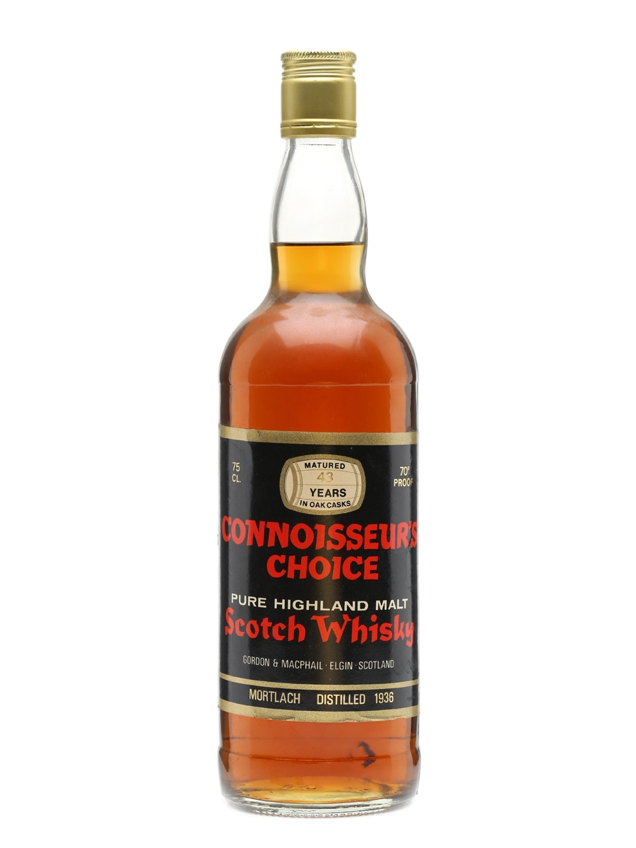 Mortlach 1936 43 Years Old Connoisseurs Choice 75cl