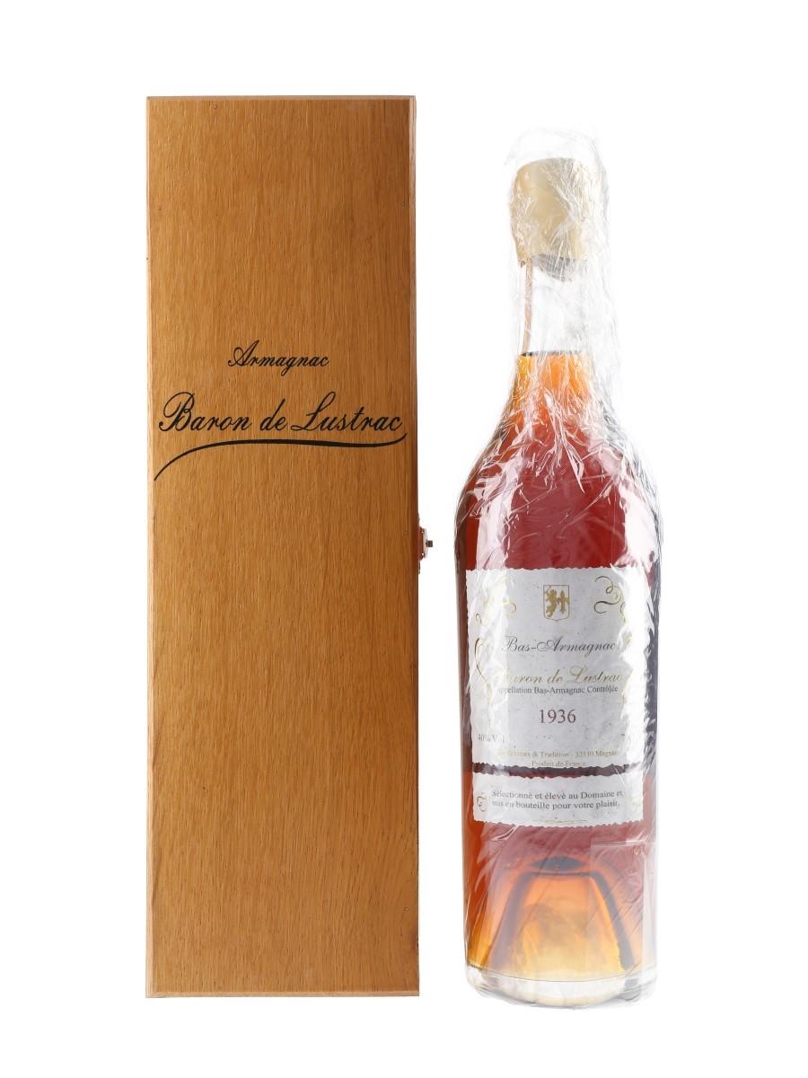 Baron De Lustrac 1936 Bas Armagnac  70cl / 40%