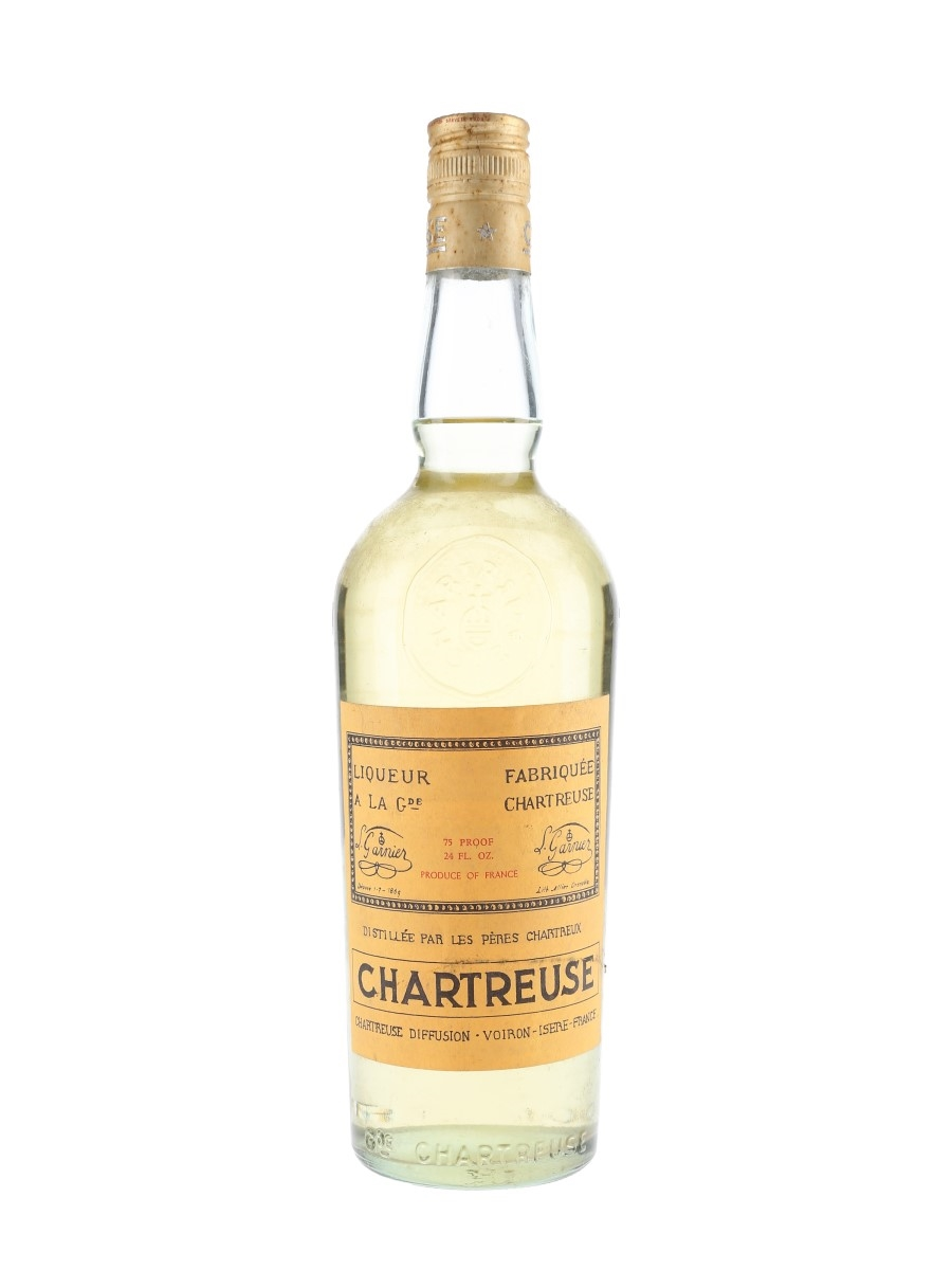 Chartreuse Yellow Bottled 1960s-1970s 68cl / 43%