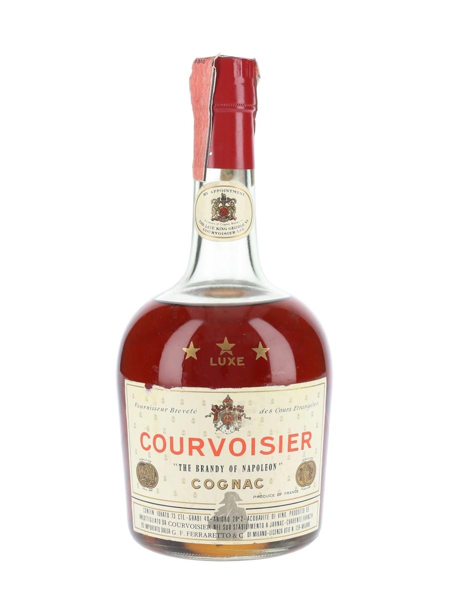 Courvoisier 3 Star Luxe Bottled 1970s - Ferraretto 73cl / 40%