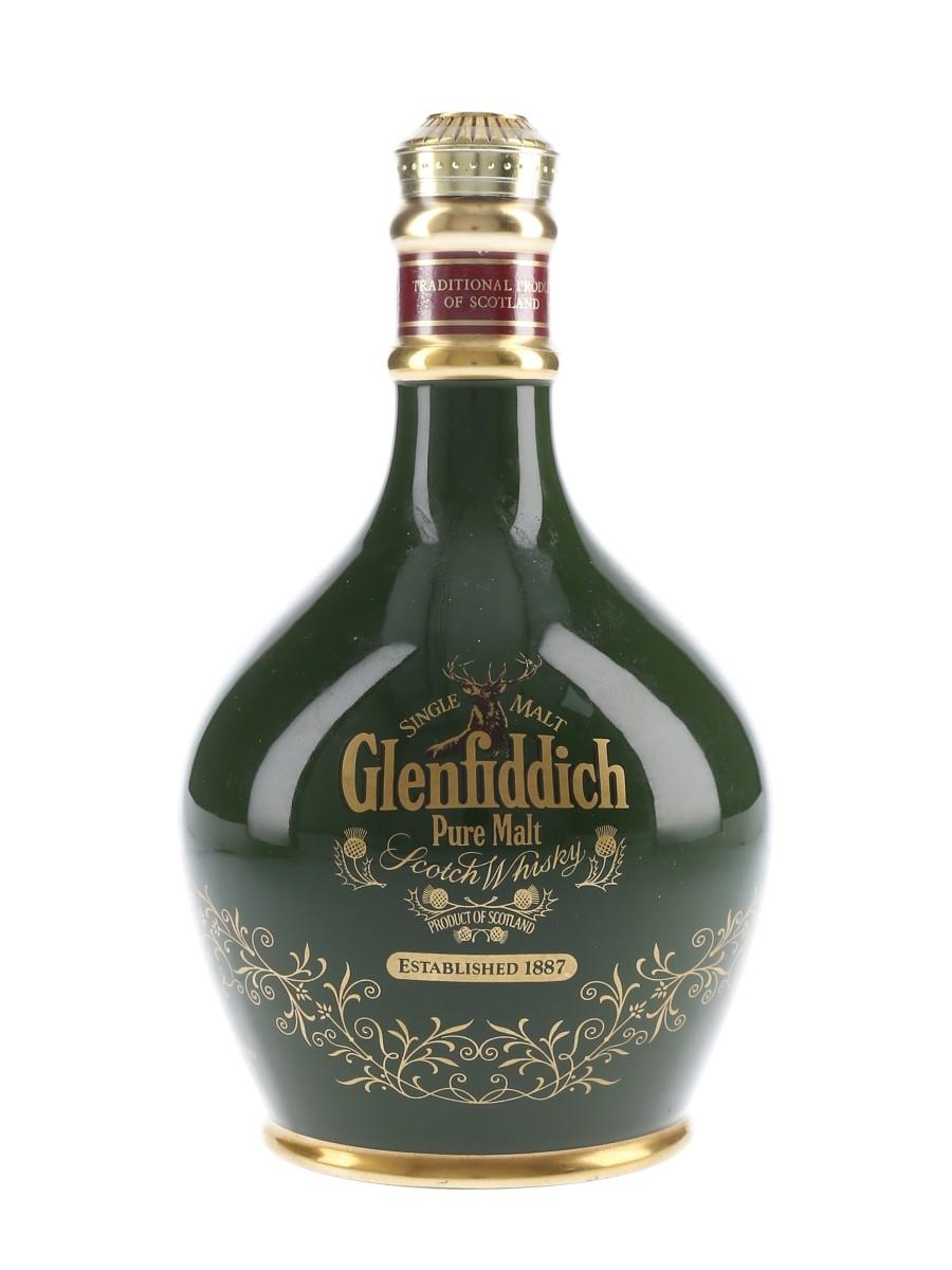 Glenfiddich Pure Malt Ceramic Decanter Bottled 1980s 75cl / 43%
