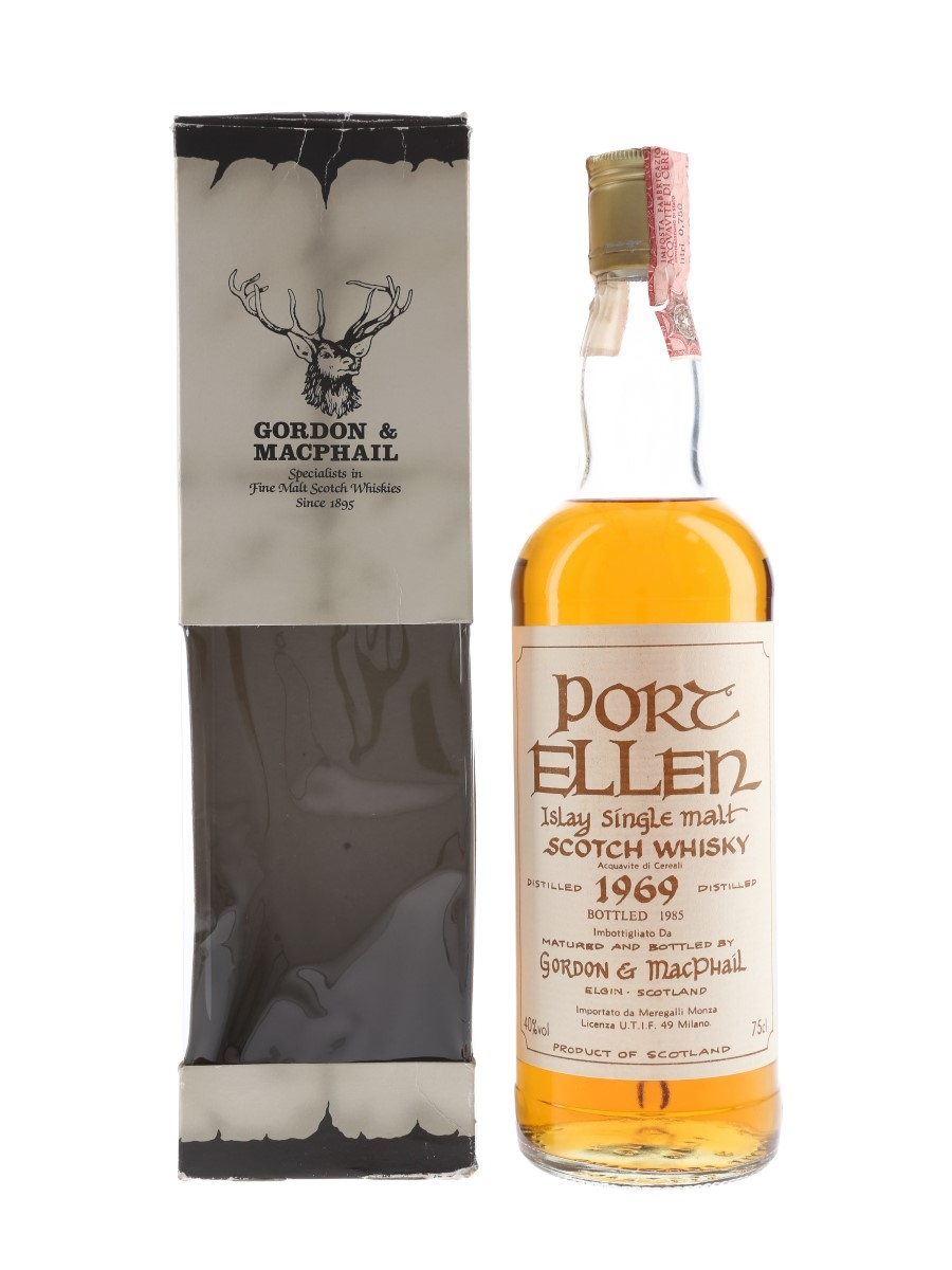 Port Ellen 1969 Bottled 1985 - Meregalli 75cl / 40%