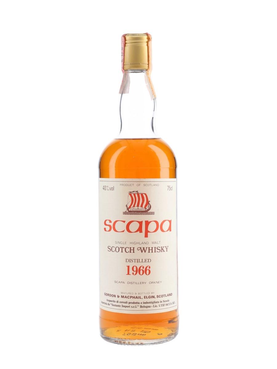Scapa 1966 Bottled 1980s - Sestante 75cl / 40%