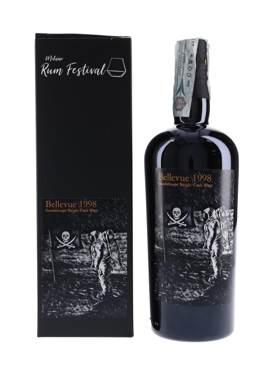 Bellevue 1998 Guadeloupe Rum Bottled 2019 - Milano Rum Festival 70cl / 57%