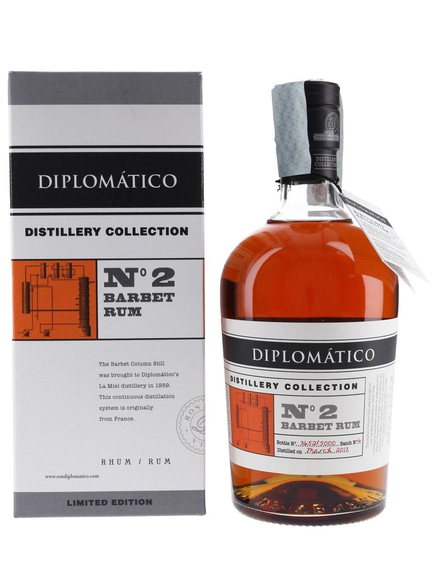 Diplomatico 2013 Barbet Rum Distillery Collection No.2 70cl / 47%