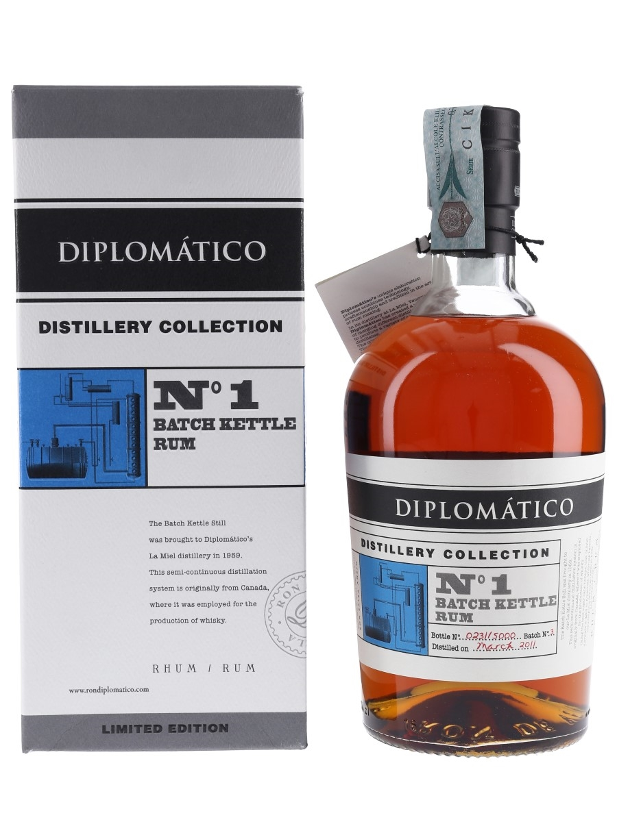 Diplomatico 2011 Batch Kettle Rum Distillery Collection No.1 70cl / 47%