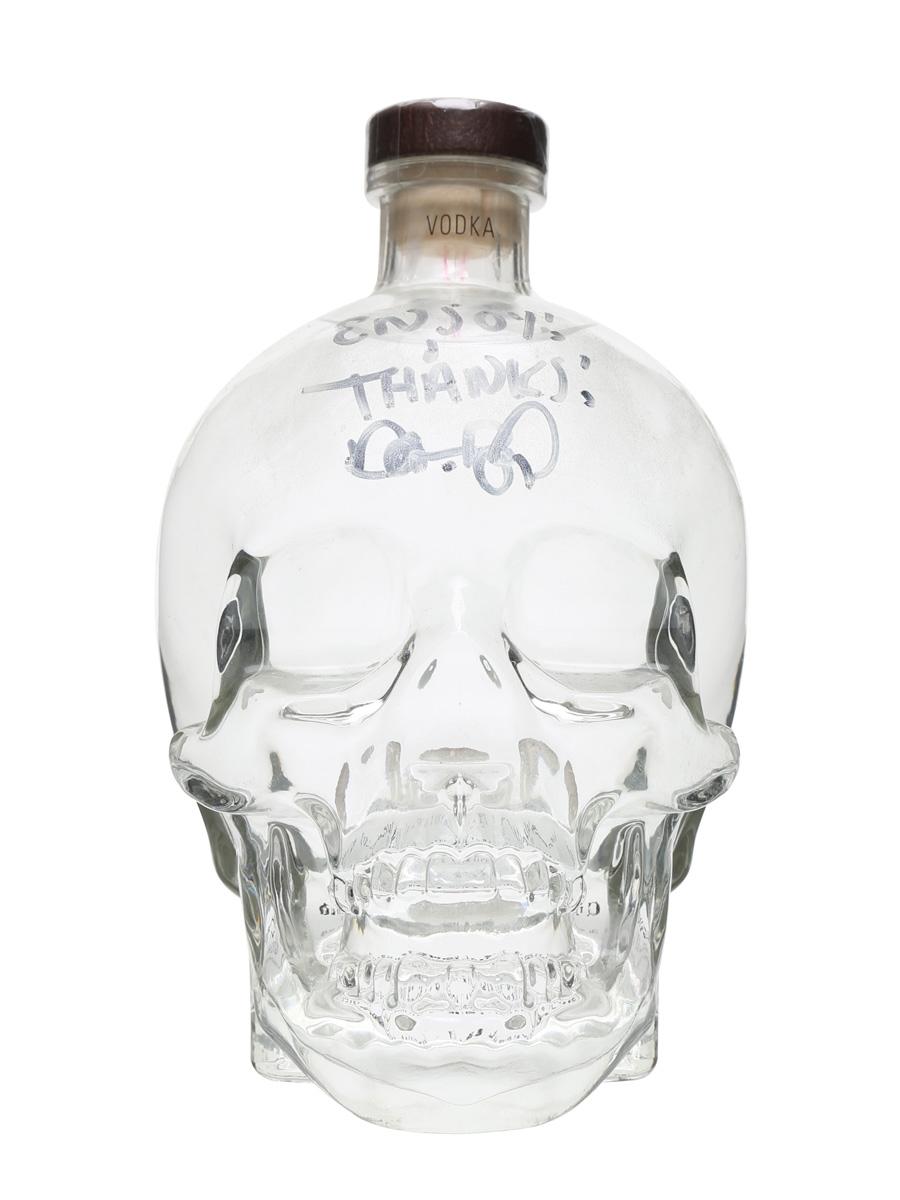 Crystal Skull Vodka Signed by Dan Aykroyd 175cl
