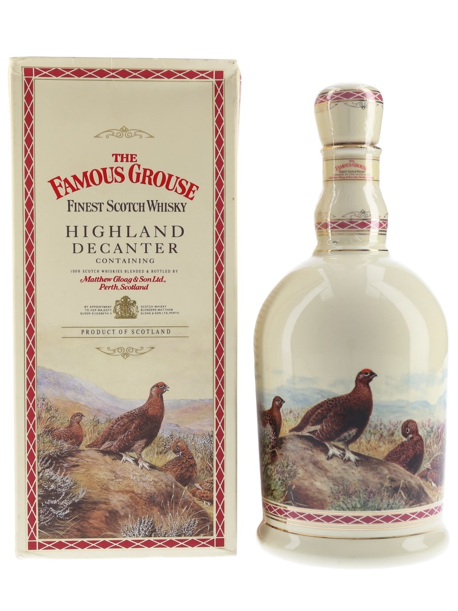 Famous Grouse Highland Decanter  70cl / 40%