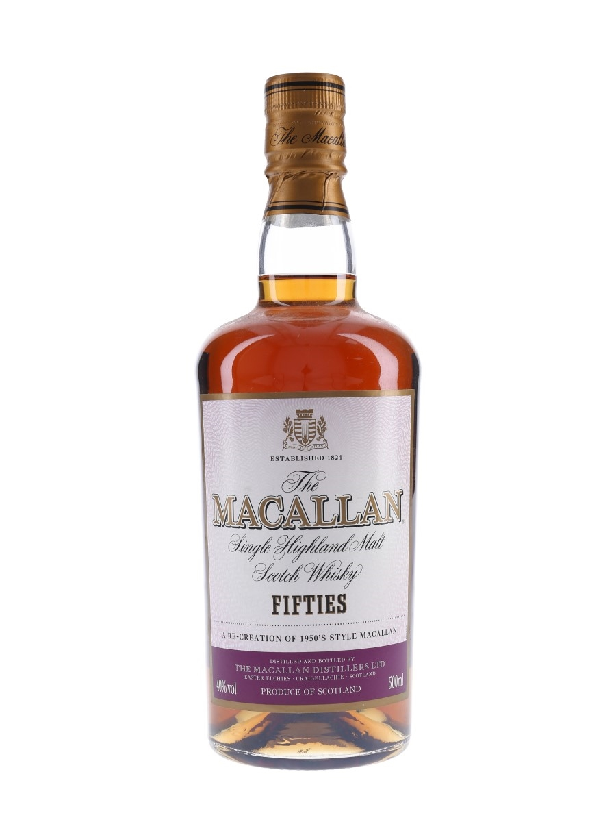 Macallan Travel Series Fifties  50cl / 40%
