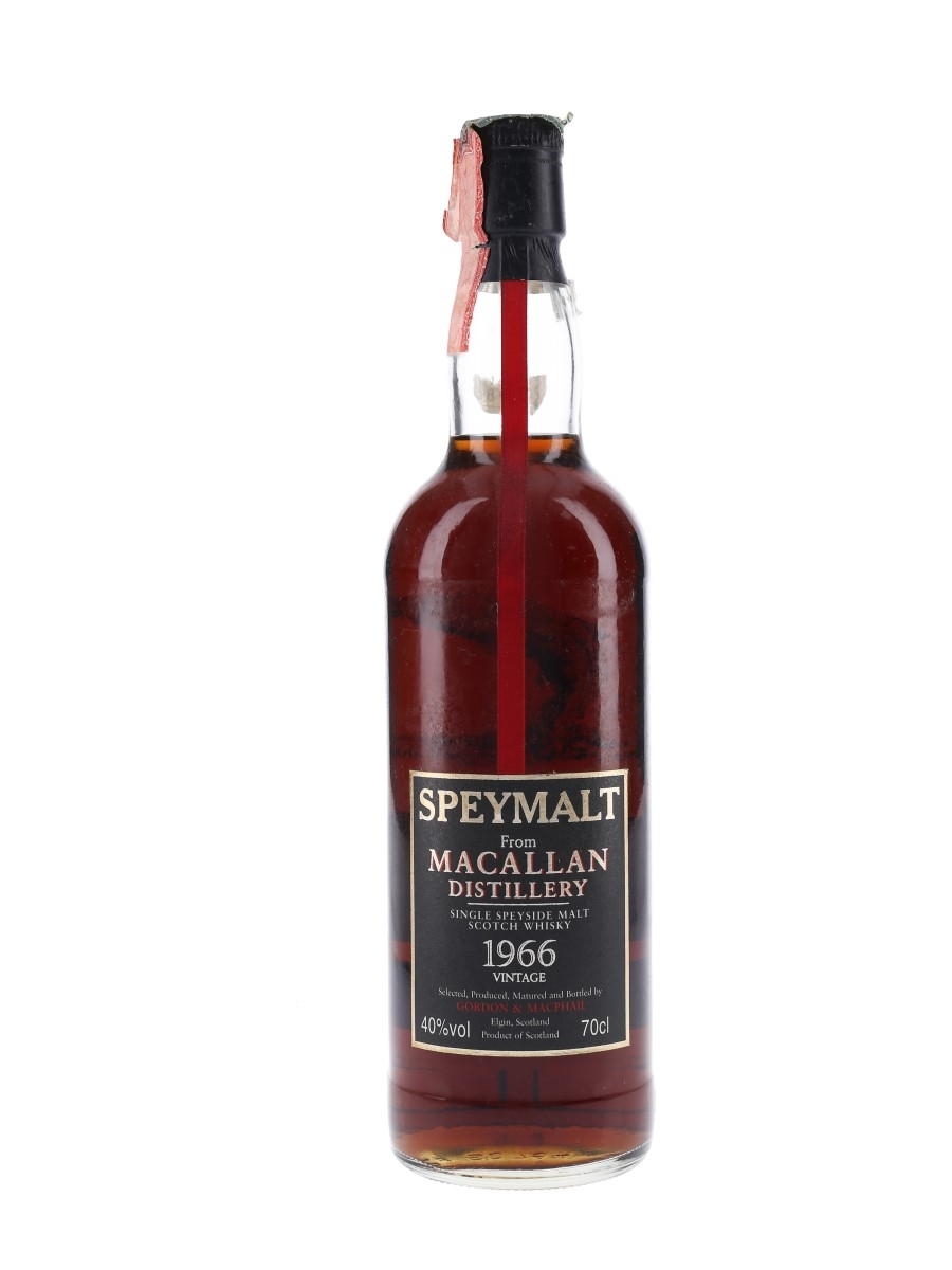 Macallan 1966 Speymalt Bottled 1998 - Gordon & MacPhail 70cl / 40%