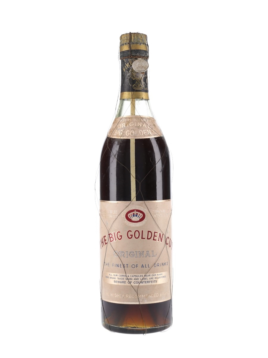 Big Golden Cup Bottled 1950s - Argos 75cl / 45%