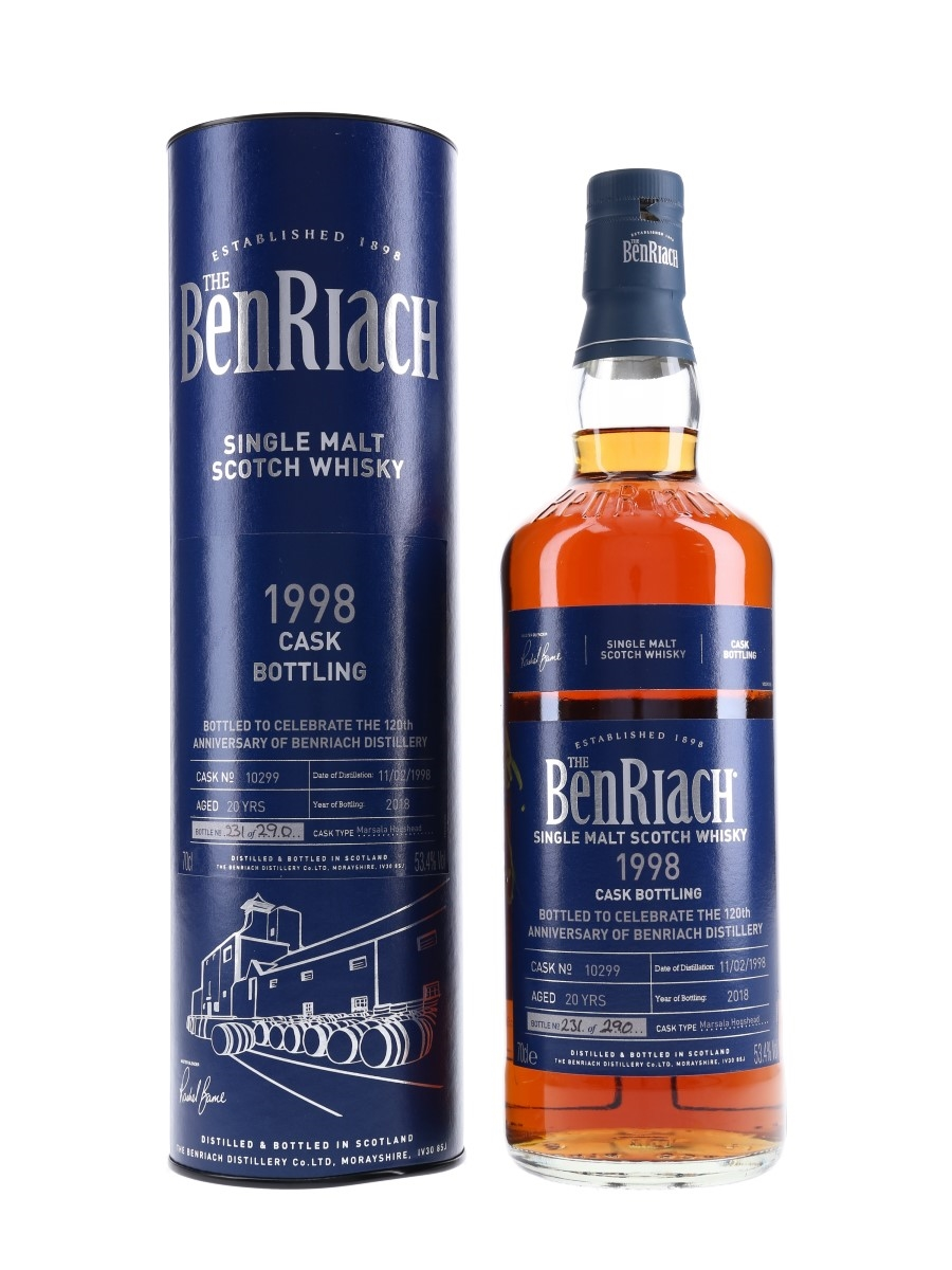 Benriach 1998 Single Cask 20 Year Old - 120th Anniversary 70cl / 53.4%