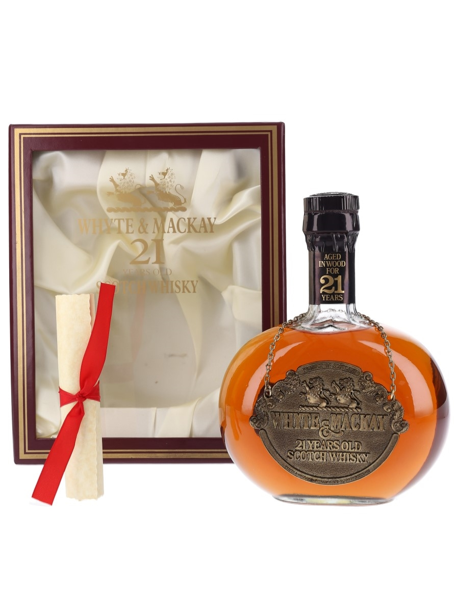 Whyte & Mackay 21 Year Old Bottled 1980s 75cl / 43%