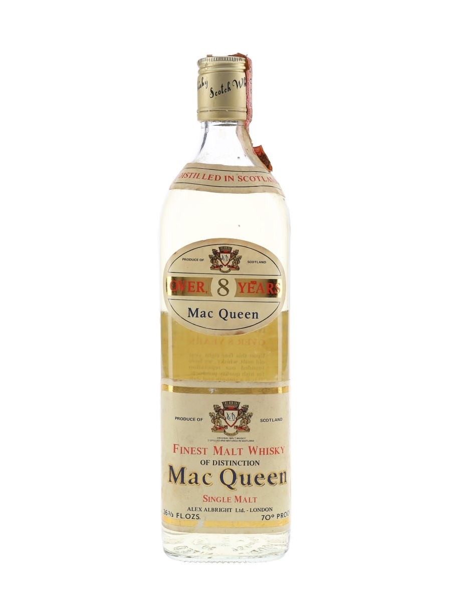 Mac Queen 8 Year Old Bottled 1970s 75.7cl / 40%