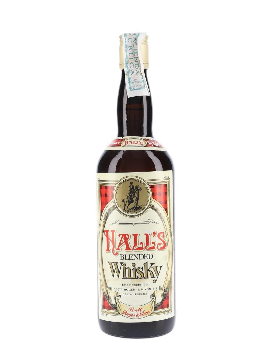 Hall's Blended Whisky  75cl / 43%