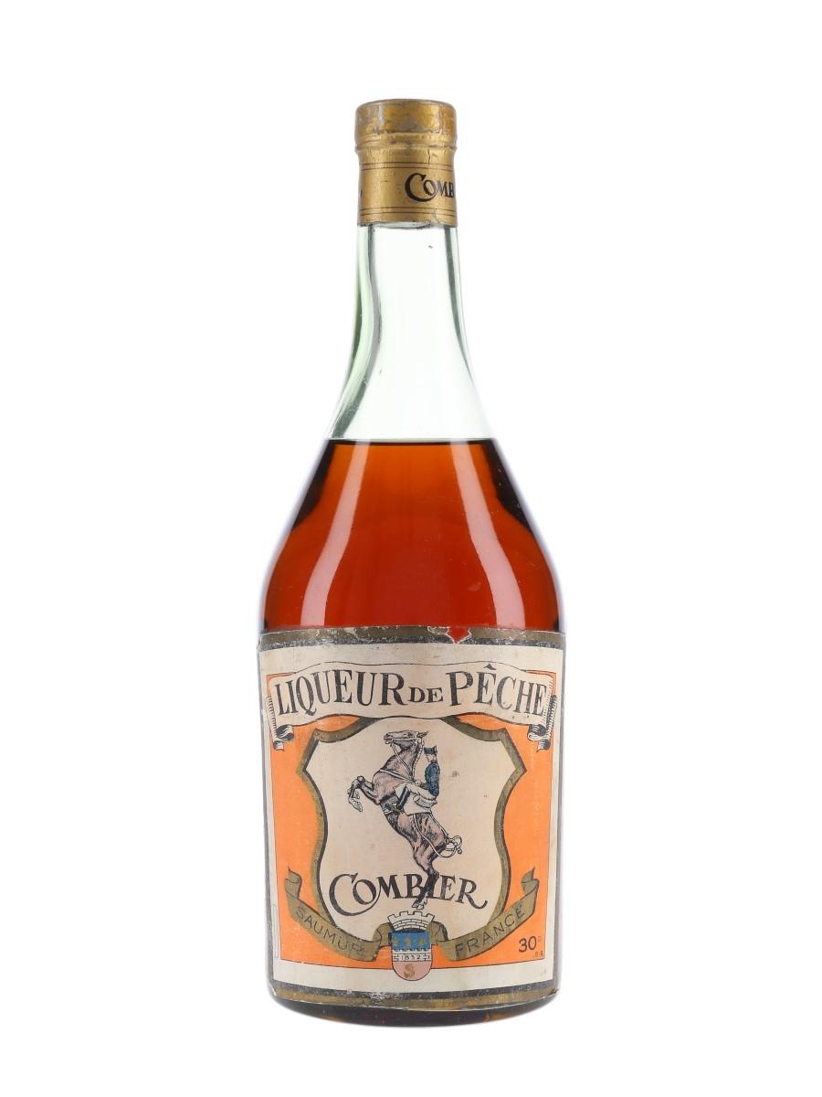 Combier Liqueur De Peche Bottled 1950s 70cl / 30%
