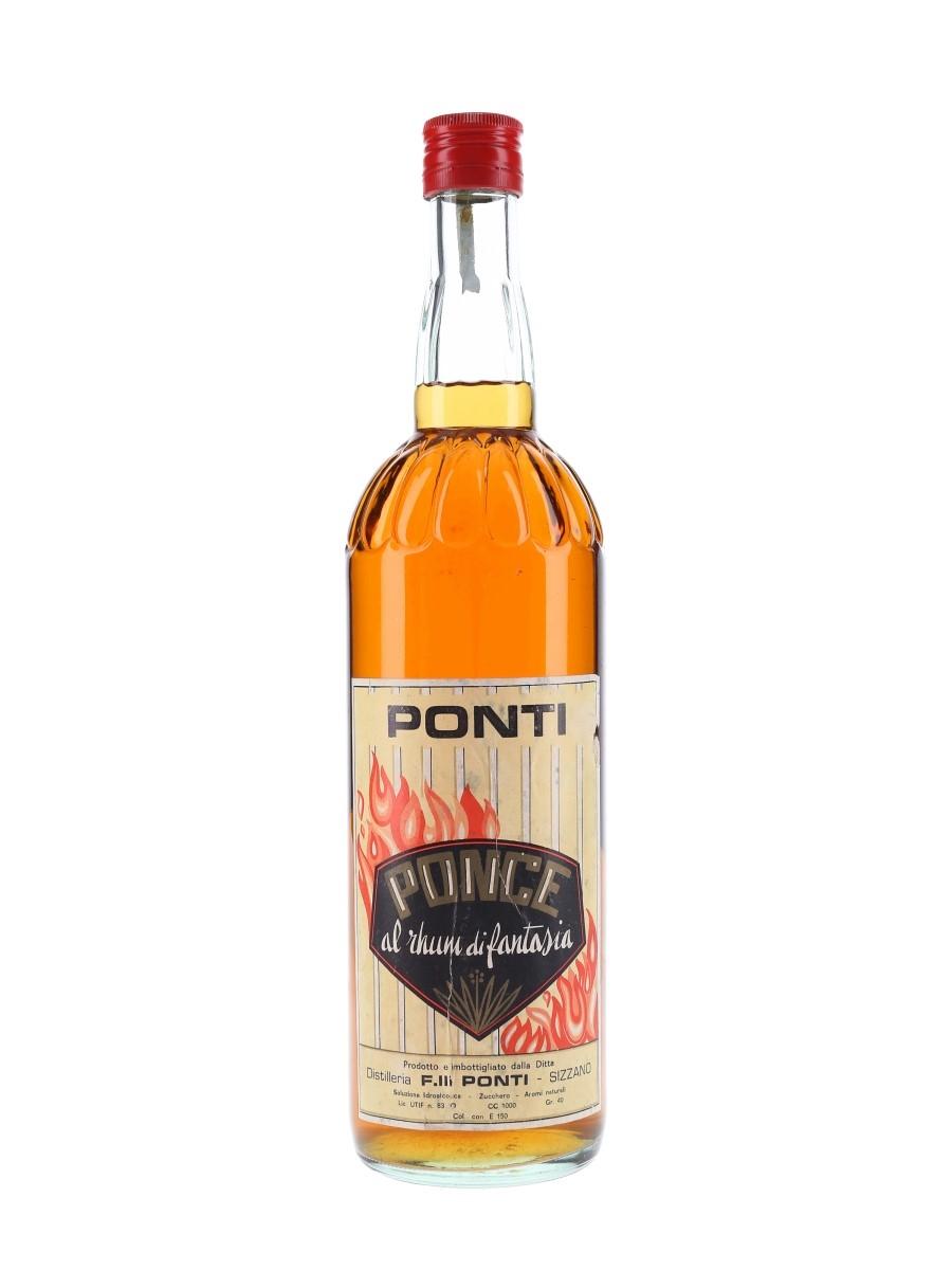 Ponti Ponce Al Rhum Di Fantasia Bottled 1950s 100cl / 40%