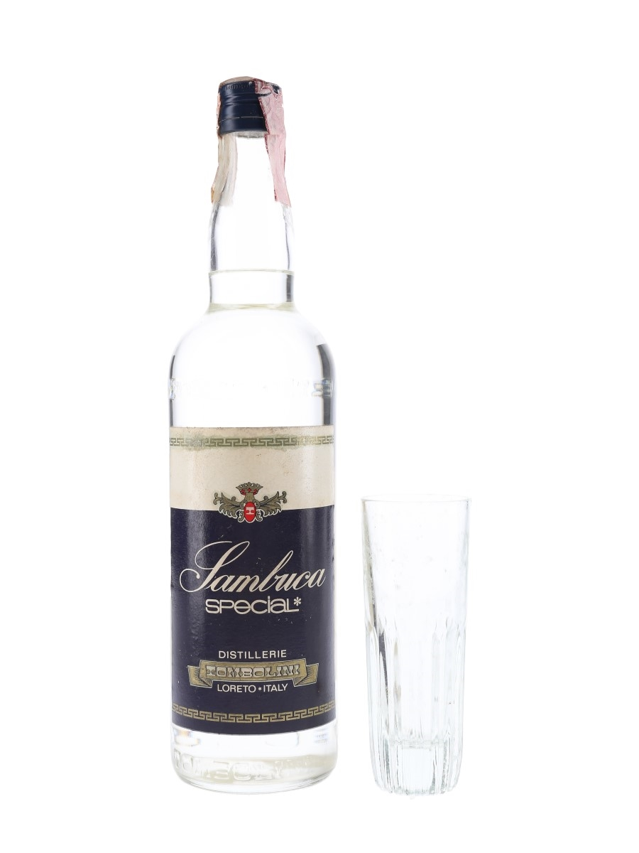 Sambuca Special Bottled 1970s-1980s - Includes Glass 100cl / 42%