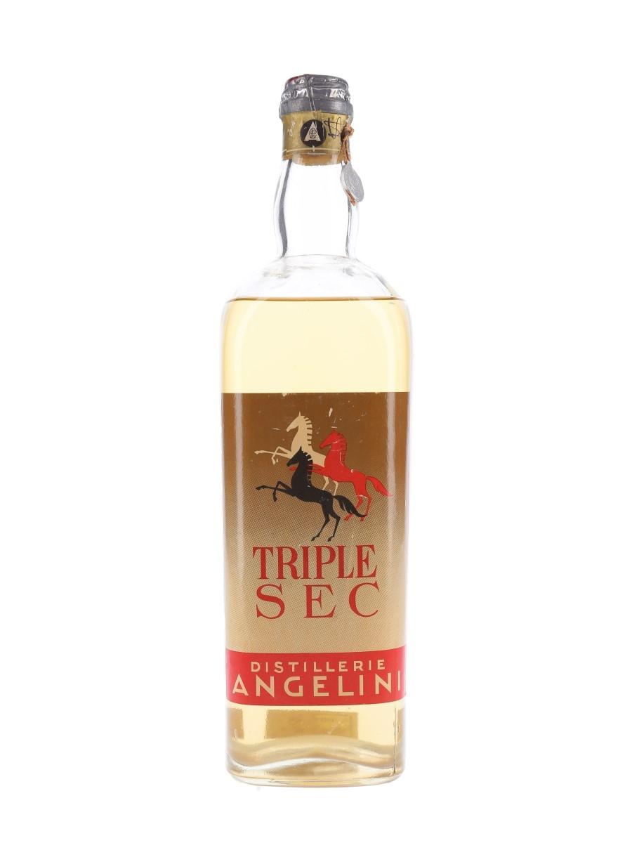 Angelini Triple Sec Bottled 1950s 100cl / 35%