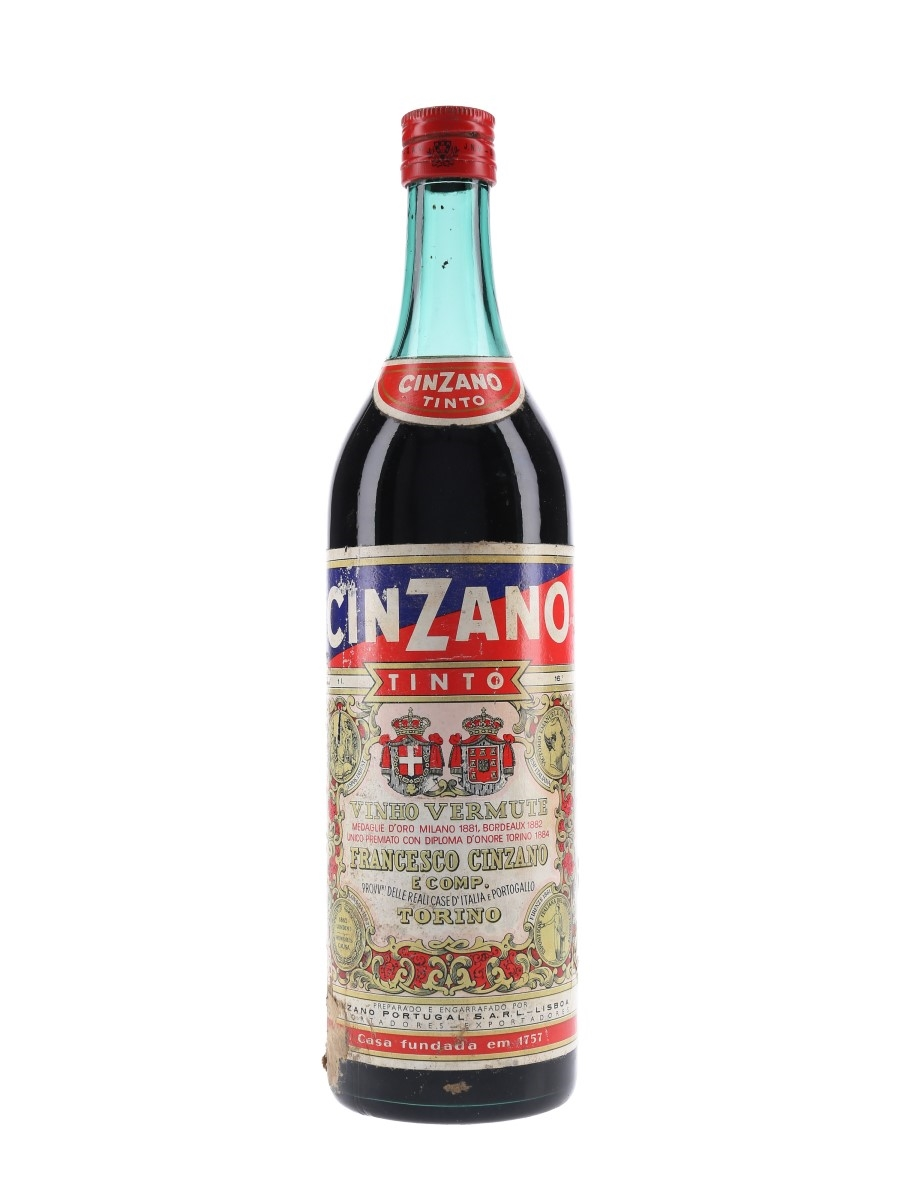 Cinzano Tinto Vermouth Bottled 1960s 100cl / 16%