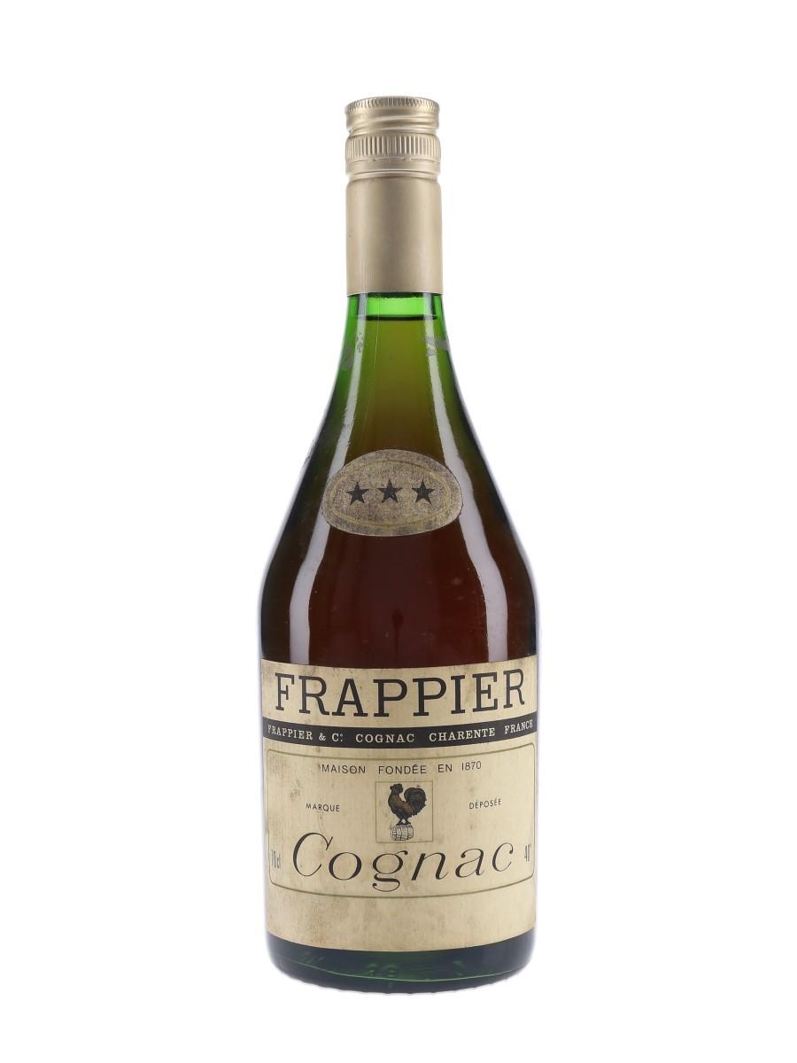 Frappier 3 Star Bottled 1970s 70cl / 40%