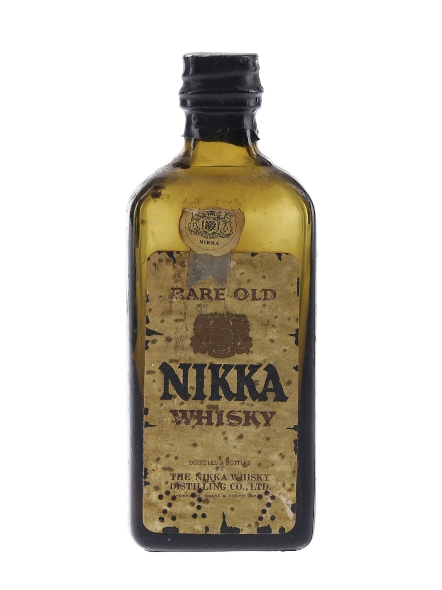 Nikka Rare Old Bottled 1960s 5cl