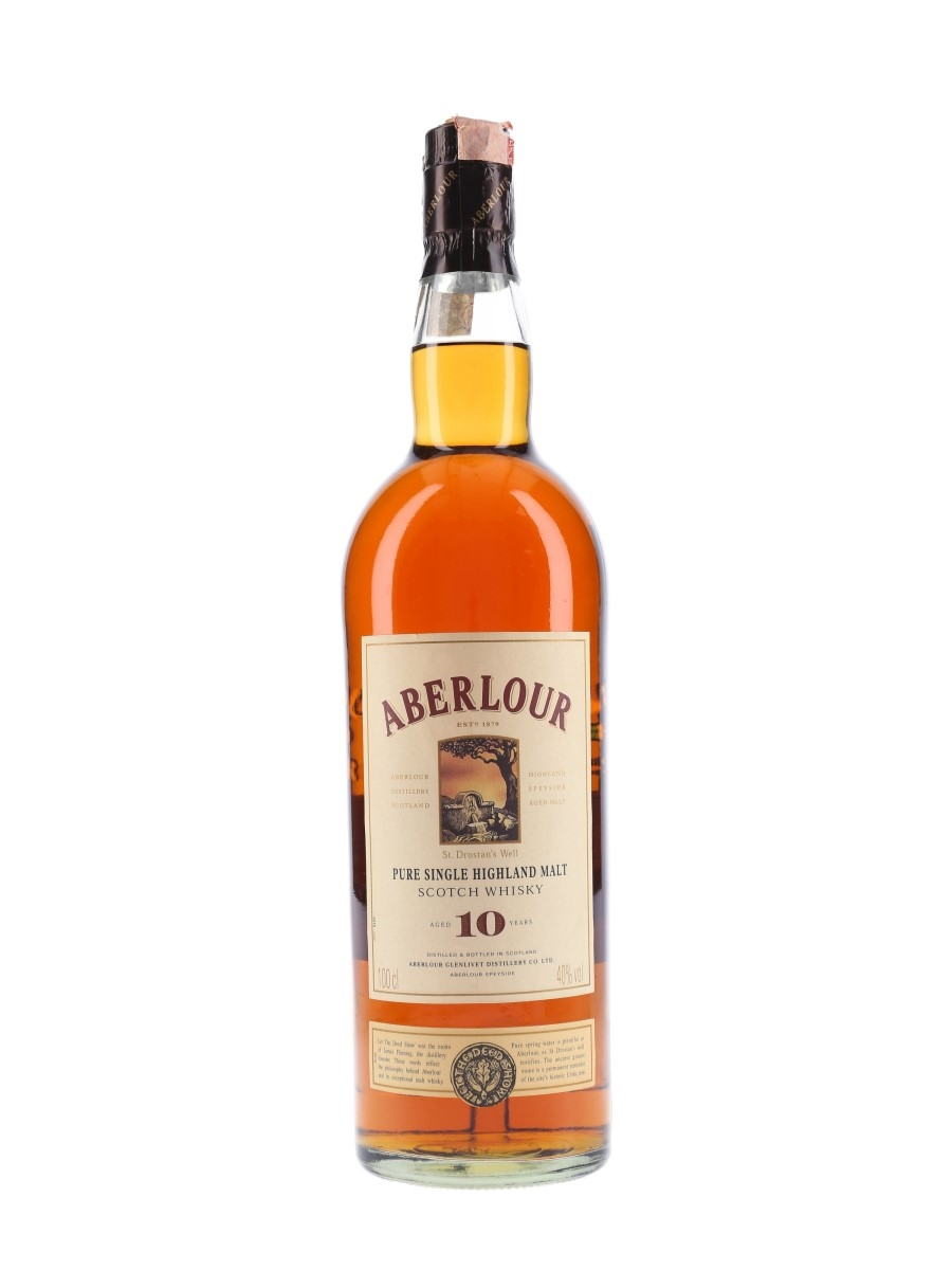 Aberlour 10 Year Old Bottled 1990s 100cl / 40%