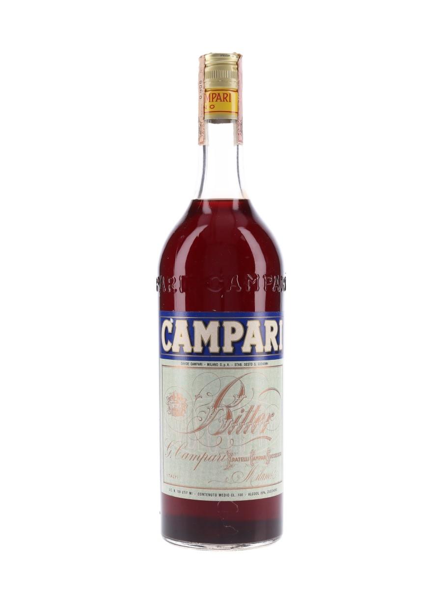 Campari Bitter Bottled 1960s-1970s 100cl / 25%