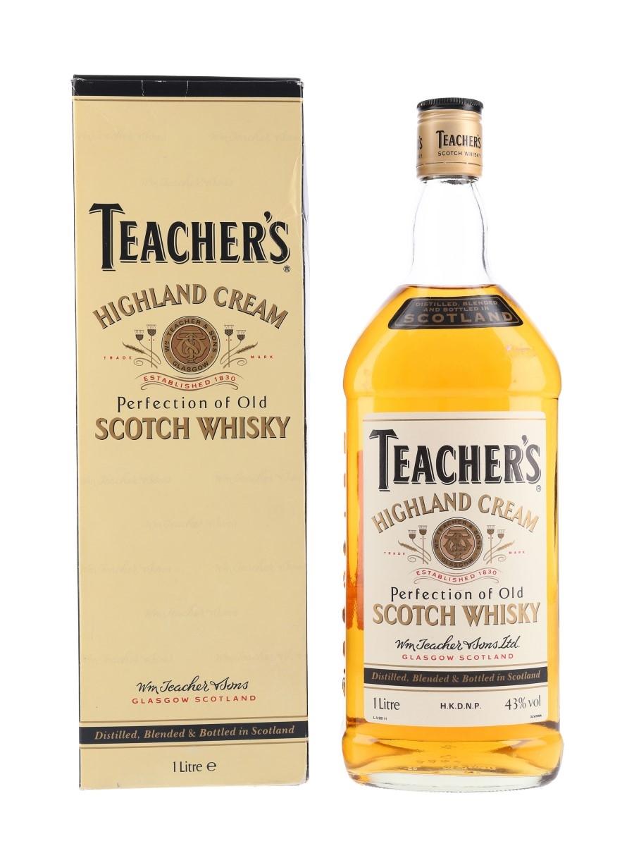 Teacher's Highland Cream Bottled 1980s-1990s 100cl / 43%