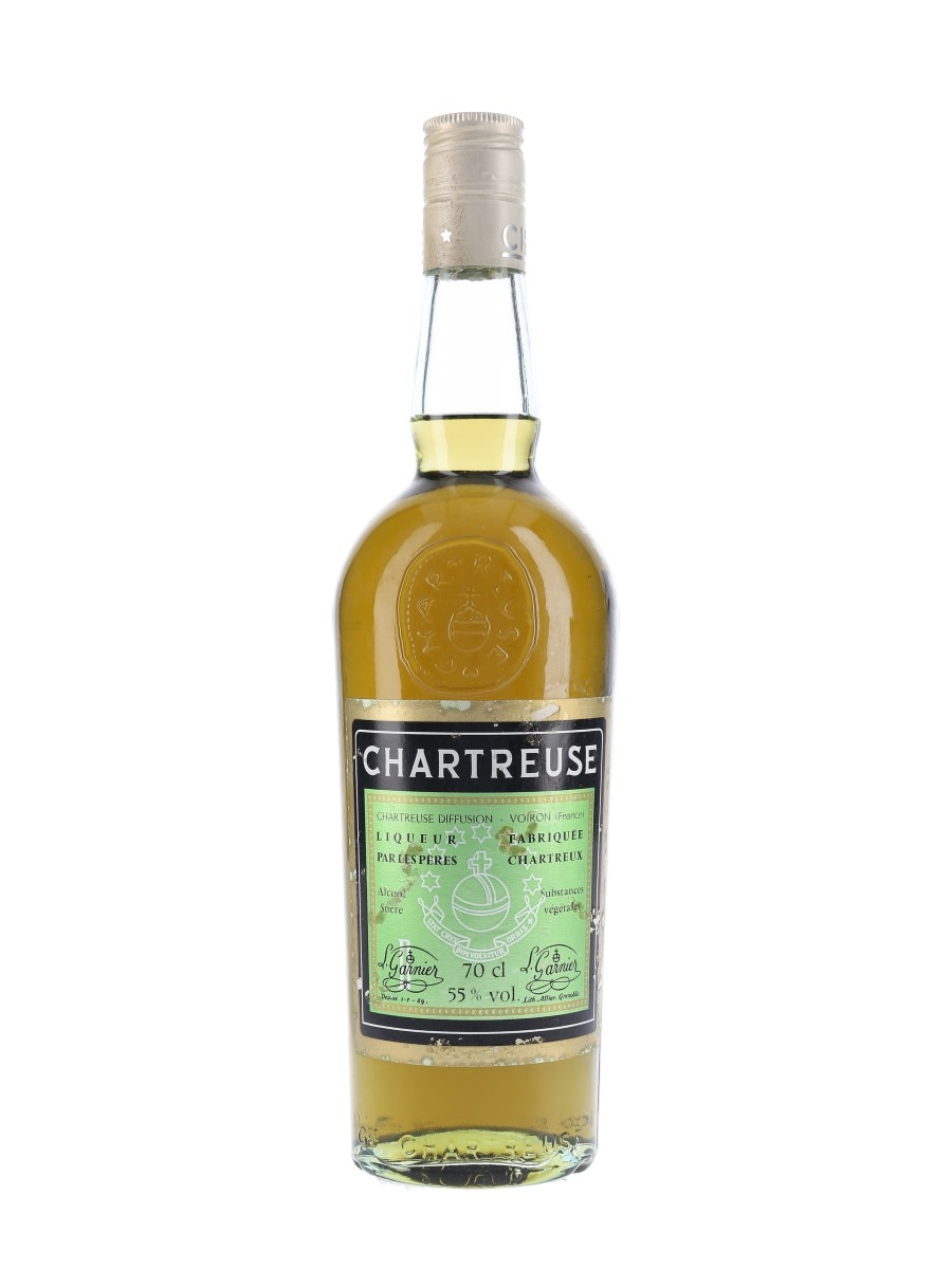 Chartreuse Green Bottled 1960s-1970s 70cl / 55%