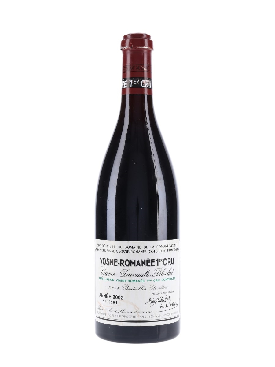 Vosne Romanee 2002 DRC Domaine De La Romanee-Conti 75cl / 13%