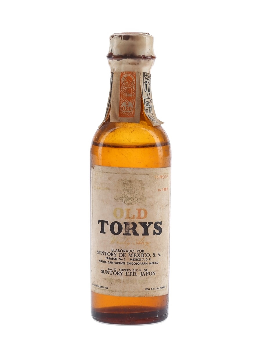 Old Torys Whisky Anejo Bottled 1960s - Suntory De Mexico 5cl / 43%