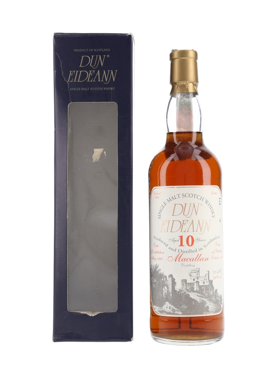 Macallan 1990 Dun Eideann Bottled 2000 - Cask no. 2644 70cl / 46%