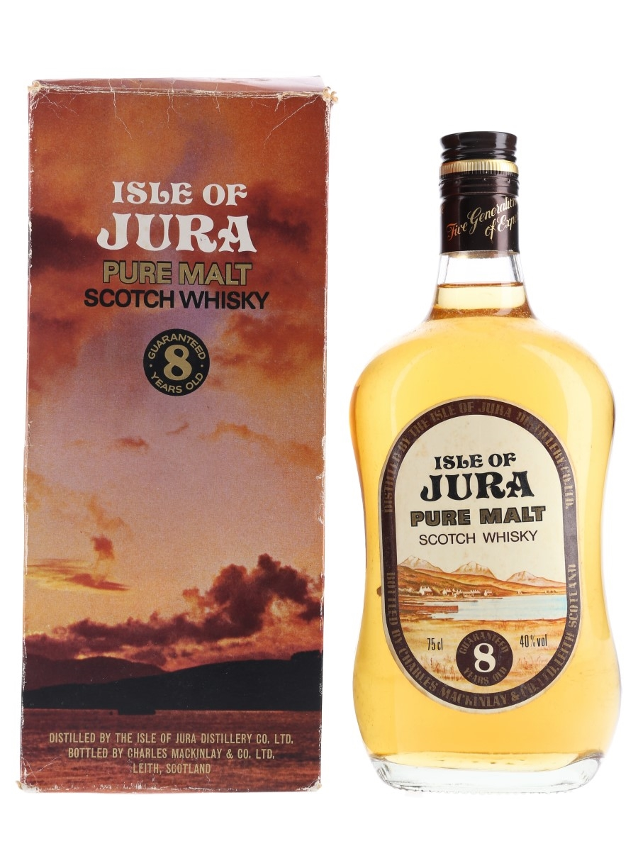 Jura 8 Year Old Bottled 1980s 75cl / 40%